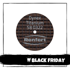 DISC SEPARATOR DYNEX TITAN 0.3X22mm 580322