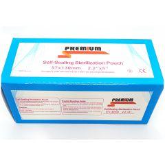 Pungi sterilizare autosigilante autoclav  57mm x 130mm PREMIUM