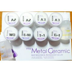 Ceramica Baot Basic Kit - PFM (metalo-ceramica) - 10 buc/set