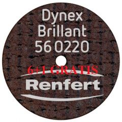 DISC SEPARATOR DYNEX BRILLANT 0.20*20MM 560220 6 + 1 GRATUIT