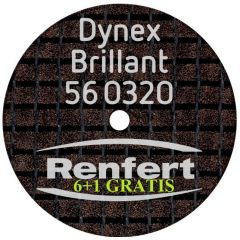 DISC SEPARATOR DYNEX BRILLANT 0.30*20MM 560320  6 + 1 GRATUIT