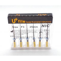 Ace Ni-Ti U+ files F3 25mm (protaper) Premium